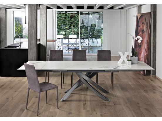 Bontempi Casa - Artistico 160cm Extendable Dining Table