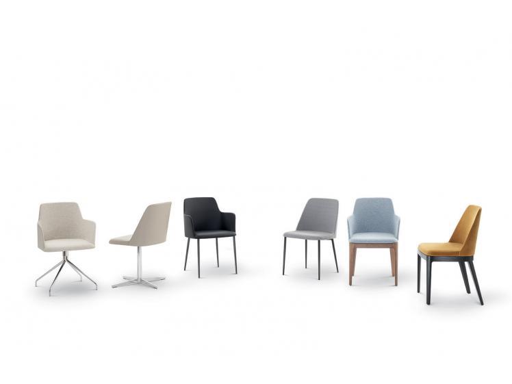 Bontempi Casa - Margot Chair Metal Leg