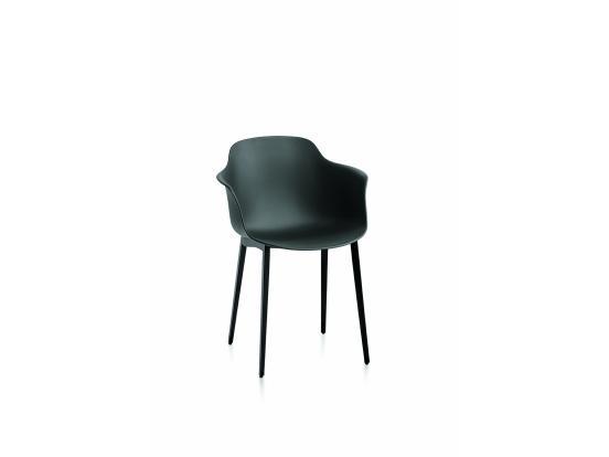 Bontempi Casa - Mood Metal Leg Chair With Arms