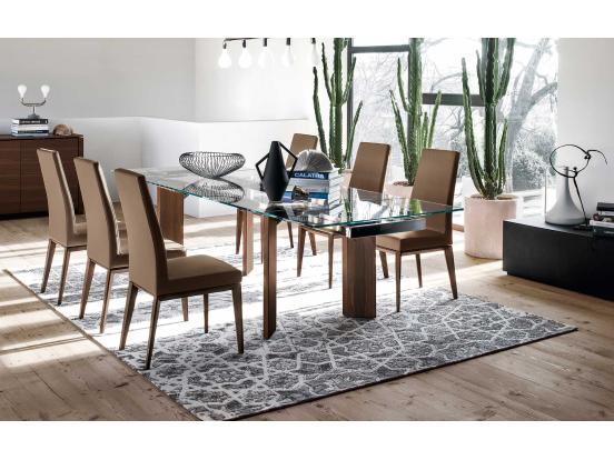 Calligaris - Bess Wood Leg Chair
