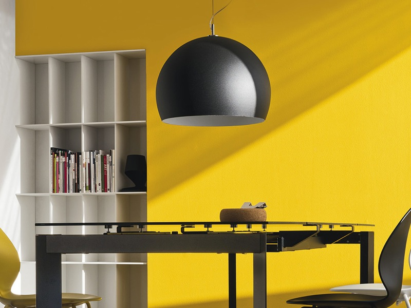 Calligaris – Volans Pendant in Black Clearance