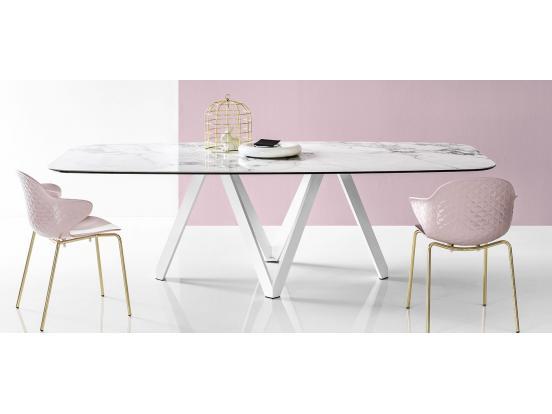 Calligaris - Cartesio 200cm Ceramic Dining Table