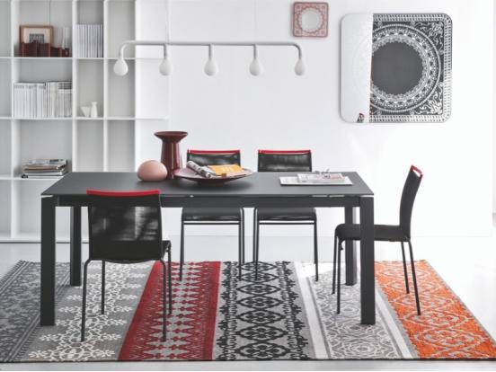 Calligaris - Duca 110cm Ceramic Extendable Dining Table