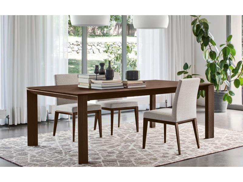 Calligaris Omnia Wood Extending Dining Table Scossa