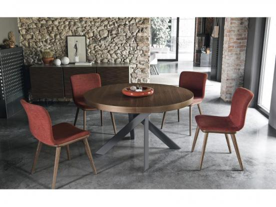 Calligaris - Tivoli Round Extendable Dining Table