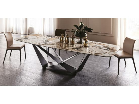 Cattelan - Skorpio Ceramic Dining Table Clearance