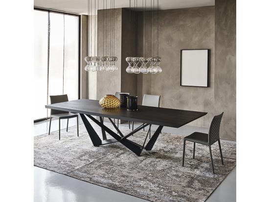 Cattelan – Skorpio Wood Dining Table 200 cm