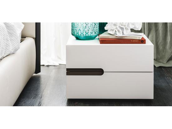 Cattelan - Ciro 2 Drawer Bedside Table