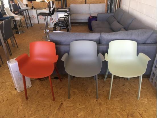 Kartell - Piuma Chair in Rust 25% Off
