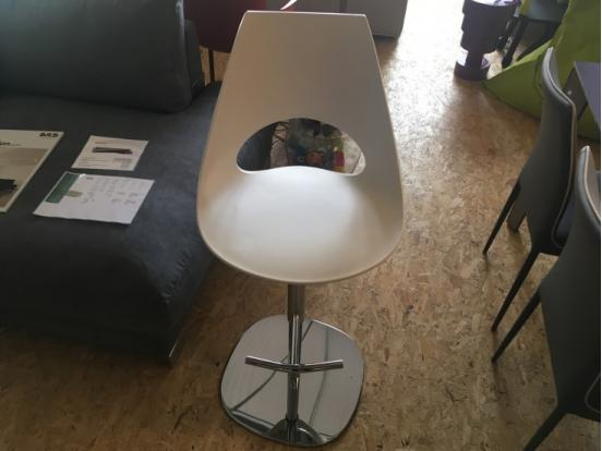 Bontempi Casa - Shark stool in White Clearance