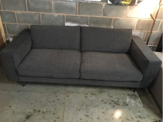 Calligaris - Square Sofa 218cm 45% Off Brand new