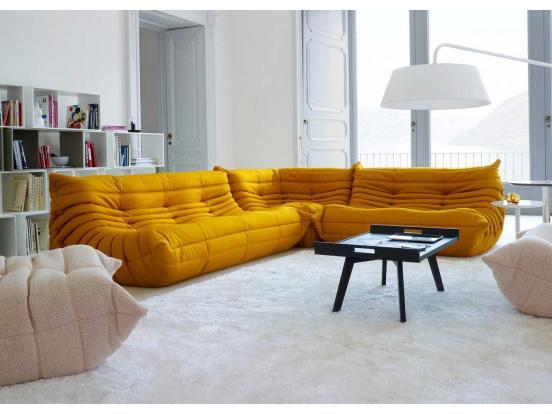Ligne Roset  - Togo sofa corner with footstool