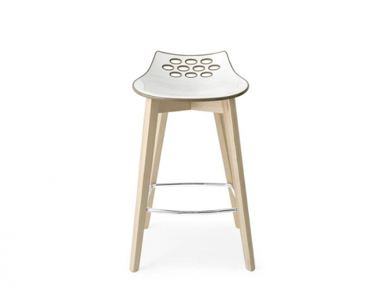 Connubia – Jam W Kitchen Height Bar Stool Clearance