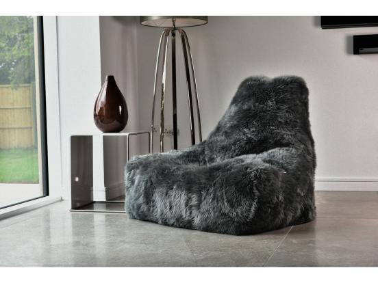 Extreme Lounging - Mighty-B Sheepskin Fur Bean Bag