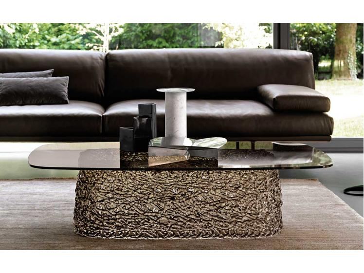 Fiam Italia - Macramé Glass Based Coffee Table