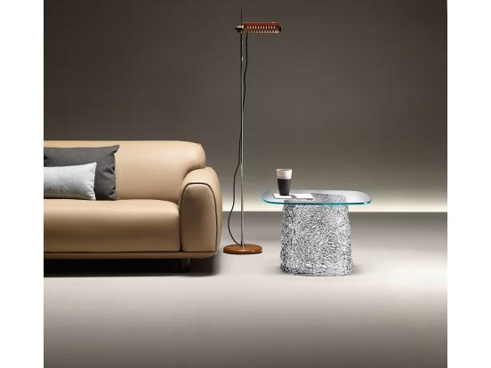 Fiam Italia - Macramé Glass Based Side Table