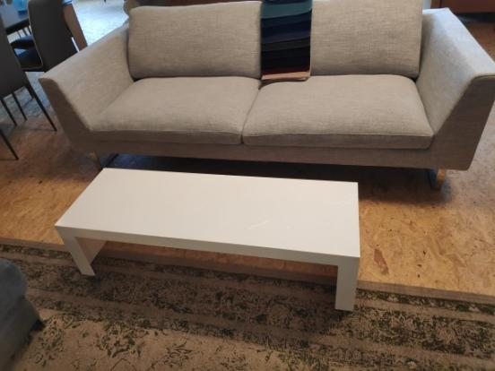 Kartell - Invisible Side Table White Clearance