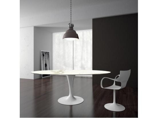 Sovet - Flute 150cm Round Ceramic Dining Table