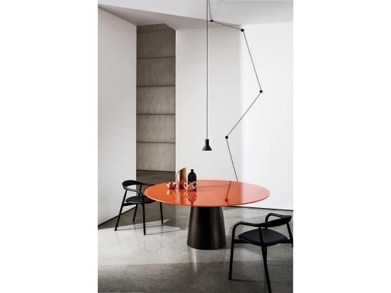 Sovet - Totem 150cm Round Ceramic Dining Table