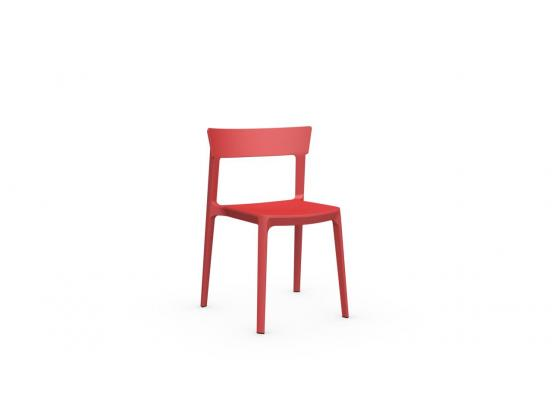 Calligaris - Skin Chair in Red Clearance
