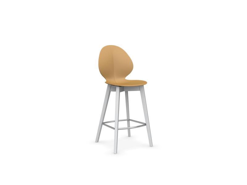 Calligaris basil stool wood