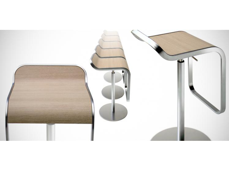 Lapalma - Lem Bar Stool Wood Finishes