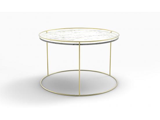 Calligaris - Atollo 62cm Ceramic Coffee Table
