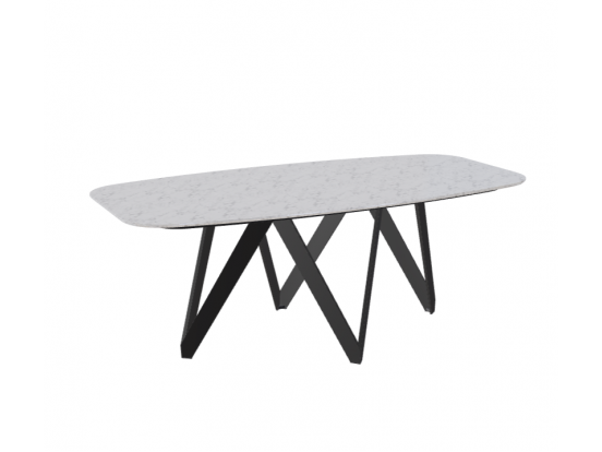Calligaris - Cartesio 200cm Ceramic Dining Table