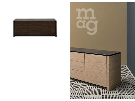 Calligaris - Mag 3 Door Sideboard Ceramic Top