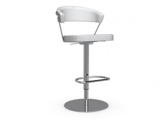 Connubia - New York Leather Stool Adjustable