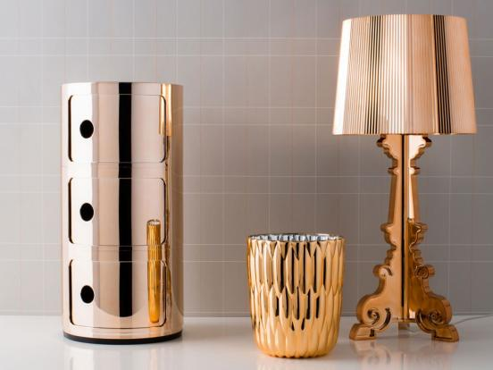 Kartell - Bourgie Lamp Copper
