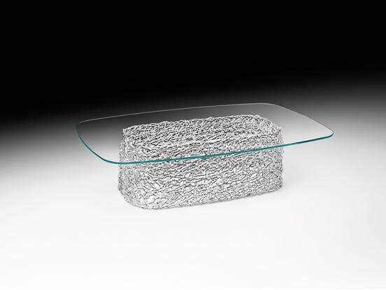 Fiam Italia - Macramé Glass Based Coffee Table