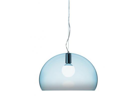 Kartell - FL/Y Pendant Light Blue 35% Off
