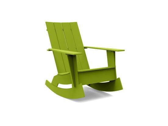 Loll - Adirondack Flat Back Rocking Chair