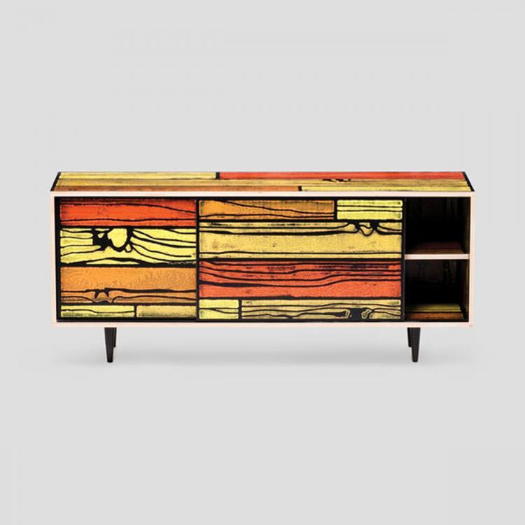 established sons wrongwoods 1500 low cabinet. Black Bedroom Furniture Sets. Home Design Ideas
