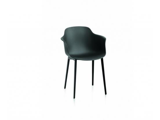 Bontempi Casa - Mood Metal Leg Chair With Arms