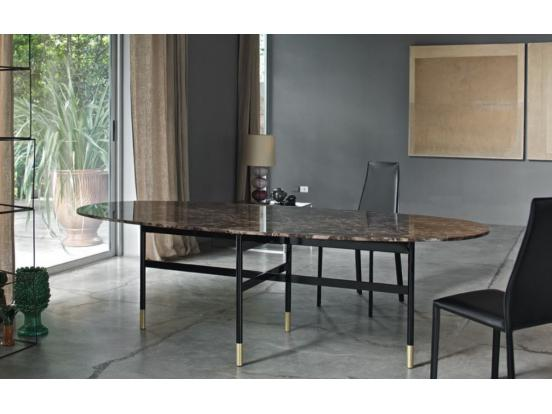 Bontempi Casa - Glamour Oval Dining Table