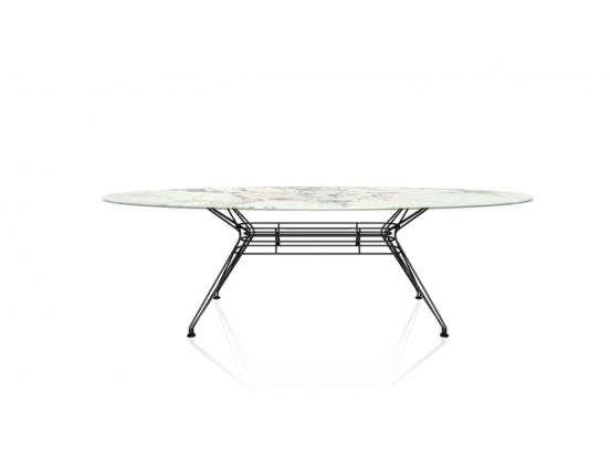 Bontempi Casa - Sander Arabescato Marble Dining Table