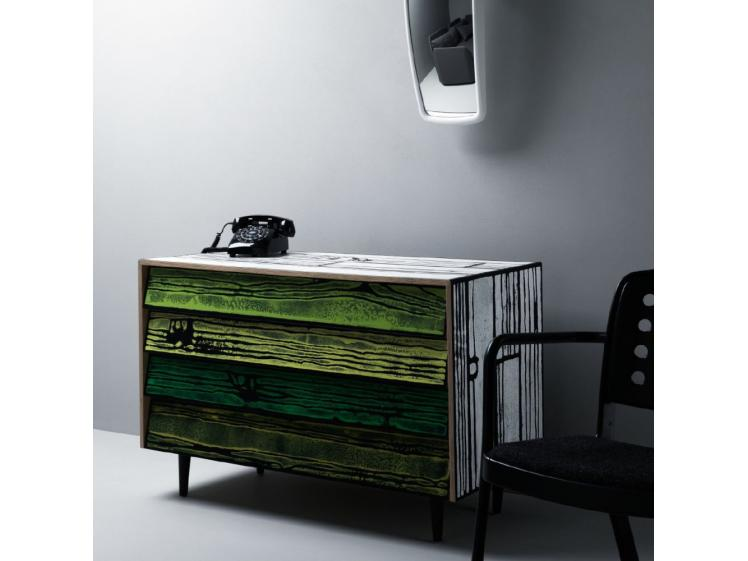 Established & Sons - Wrongwoods 1090 Chest Of Drawers