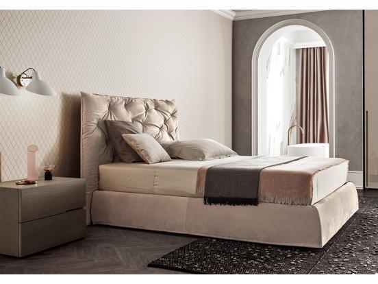 Pianca - Impunto Maxi & Plisse Frame Bed