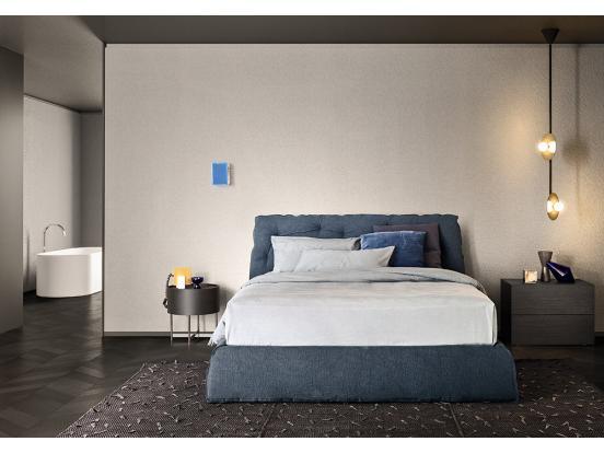Pianca - Impunto & Plisse Frame Bed