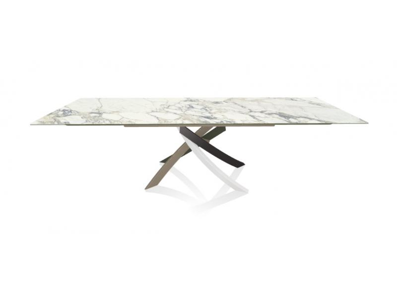 Bontempi Casa - Artistico 190cm Extendable Ceramic Dining Table
