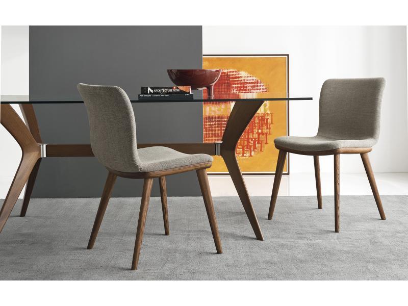 Calligaris   Annie Wooden Leg Chair