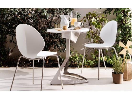 Calligaris - Basil Dining Chair Straight leg