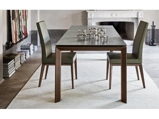 Calligaris - Bess Wood Leg Chair