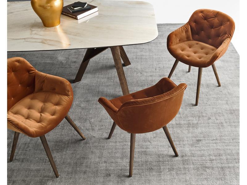 calligaris igloo soft chair