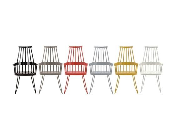 Kartell - Comback Chair Sled Leg