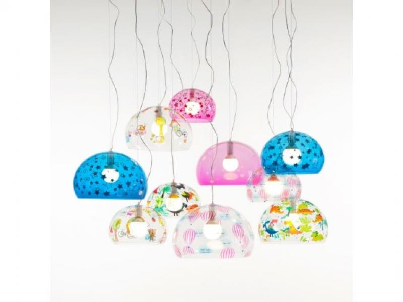 childrens pendant lighting. Kartell - Immagini Childrens FL/Y Pendants Small/Medium Pendant Lighting I