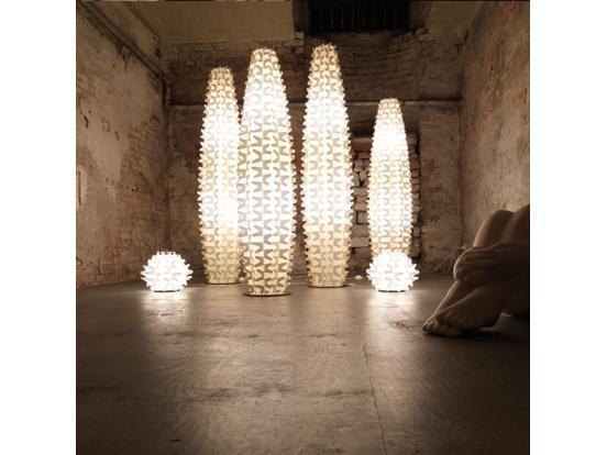 Slamp - Cactus Floor Light Gold