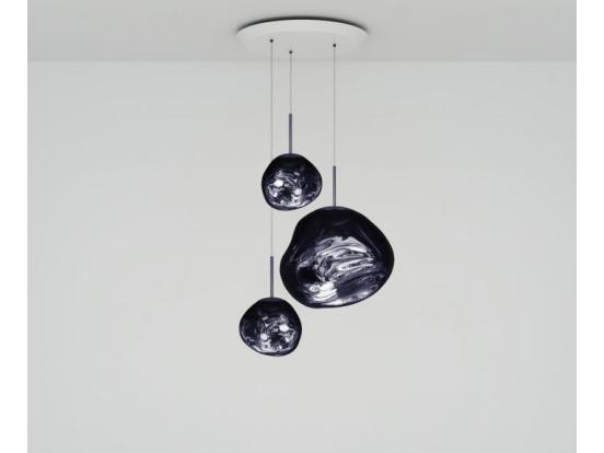 Tom Dixon - Melt LED Trio Multi-Drop Pendant